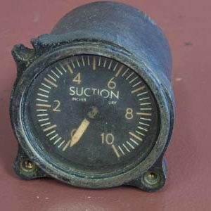 Manning, Maxwell & Moore Inc. Suction Gauge